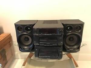 Panasonic Multi CD-Tape-Tuner Mini Stereo System Winmalee Blue Mountains Preview