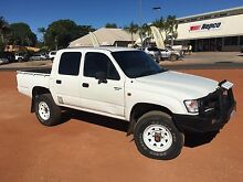 2002 4x4 Toyota Hilux 3.0 Diesel Broome Broome City Preview