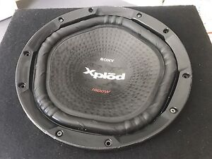 Sony Xplode 1800 w subwoofer + ken wood Amp Wonglepong Ipswich South Preview