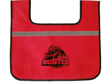 BOGBUSTER WINCH SNATCH STRAP TOW SYNTHETIC DYNEEMA ROPE DAMPENER