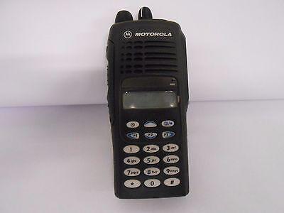 Motorola Ht1250 Aah25rdh9aa6anfd Handheld Uhf Frequency