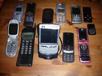 Stock 10 Cellulari Lotto Motorola Lg Hp Nokia Vintage Telefoni Vecchi - hp - ebay.it