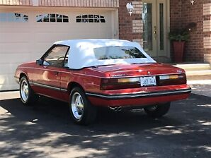 1983 Ford Mustang GLX Convertible Show Car