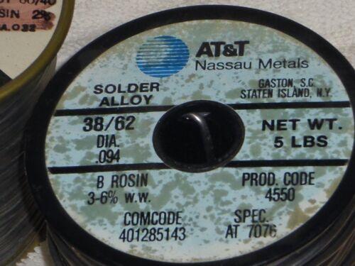 5# Western Electric at&t NASSAU solder 7076