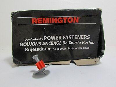 Ramset Fastener Pin Nails Washer 1 2 Boxes Of 100 200 Total Remington Concrete