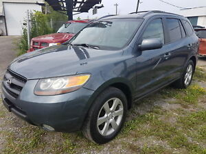 2007 Hyundai Santa Fe GL Premium w/Lth SUNROOF, HEATED SEATS