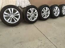 Genuine Hyundai i30 wheels and tyres Lidcombe Auburn Area Preview