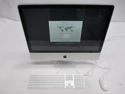 "Apple iMac A1225 MA878LLBTO/CTO Mid-2007 24"" C2E X7900@ 2.8GHz 2GB 500GB HDD"