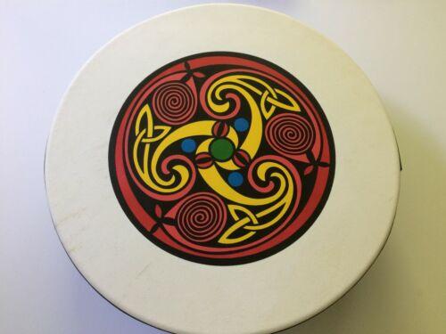 "Irish drum bodhran beginners set 14"" DVD beater bag Vignoles made in Ireland"