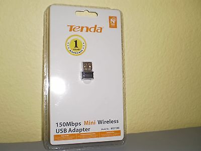 Tenda W311MI 150Mbps Wireless N Pico USB Adapter