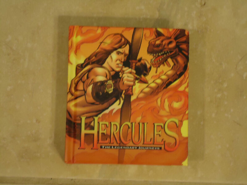 """""""Hercules, The Legendary Journeys"""" Mighty Chronicles Hardcover Book, New"""