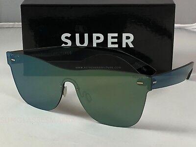 Retrosuperfuture Tuttolente Classic Petrol Frame Sunglasses SUPER V10 55mm NIB
