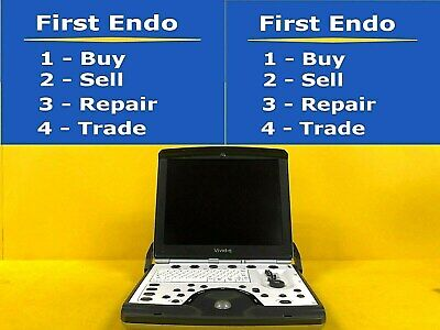 Ge Vivid Q Portable Ultrasound System In Excellent Condition