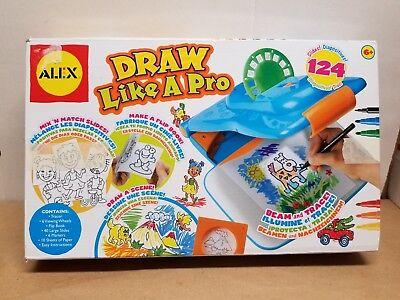 ALEX Toys Artist Studio Draw Like A Pro Tracing Activity Kit Kids Learning Toy