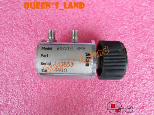 1× ALAN 50SV10 DC-3GHz 0-10 1dB-Step 1W SMA Adjustable Variable Step Attenuator