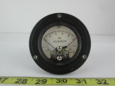 New Old Stock Assembly Products D.c. Kilovolts Meter Gauge Model 355 0-10