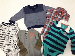 Assorted boys 18m to 24m clothing lot