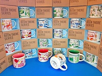 Starbucks City Mugs   Been There Series     New Release   Collection  Assorted