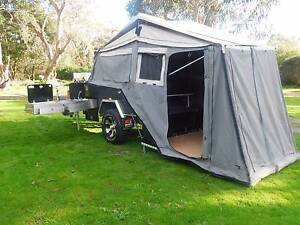 Hard floor Camping tent trailer for hire - AVAILABLE NOW Mitcham Whitehorse Area Preview