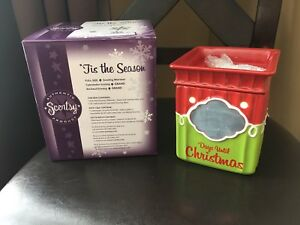 Scentsy Holiday Warmer, 'Tis the Season- Like New