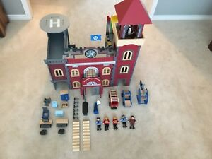 Imaginarium Police and Fire Station playset