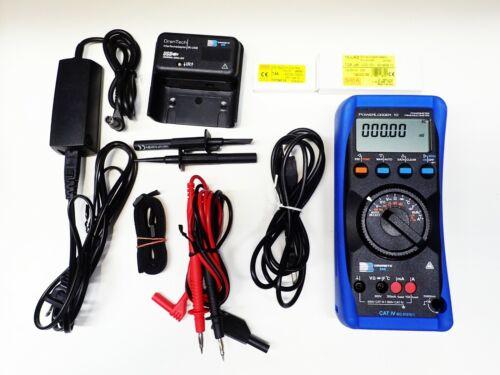 Dranetz PowerLogger10 - Power Meter/Logger w/USB adapter & Software CD