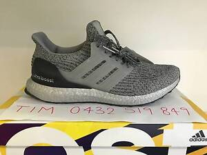 Adidas Ultra Boost 3.0 Triple Silver Super Bowl US8.5 $350ono Hoppers Crossing Wyndham Area Preview