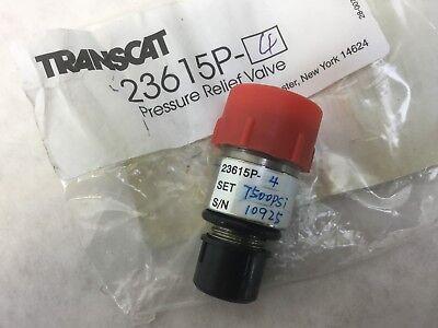 Transcat 23615p-4 Pressure Relief Valve 700bar New