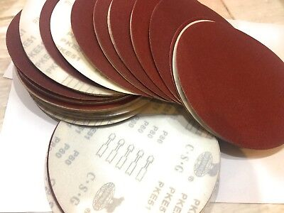 Drywall Sanding Discs 9 80-grit 50 Pack Fits Porter Cable 7800 Hook Loop