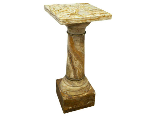 Pedestal, Onyx Column Display , Architectural, Gorgeous!!