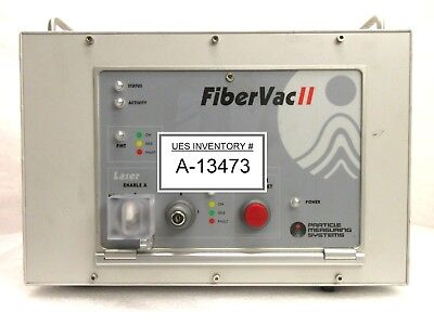 Particle Measuring Systems Fibervac Ii Laser Control Unit Rev. B Used Working