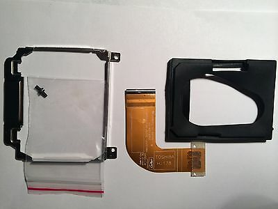 Dell D420 D430 HDD caddy, adapter and rubber protector completed kit w screws for sale  Shipping to India