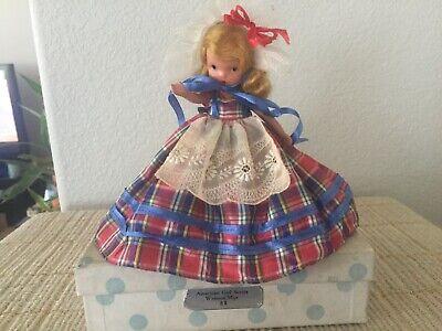 Vintage Nancy Ann Storybook Dolls ~ #58 Western Miss Bisque Frozen Leg Box