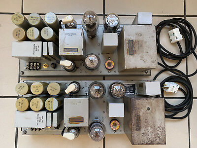 Western Electric Original 124E Amps - GREAT Working condition - Mega RARE