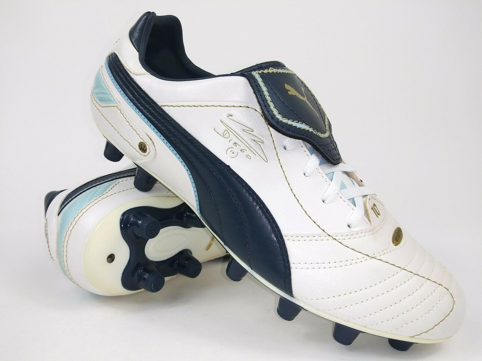 Rare 2010 Puma King Diego Maradona Finale Trainer 102169 01 Soccer Shoe Size 11 For Sale Online Ebay