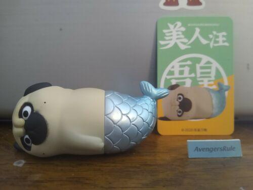 52Toys Wuhuang Wanshui Daily Life Series 3 Mini Figure Pug With Mermaid Tail