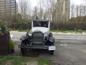 1929 Ford Panel Truck , Shay , only 3 made