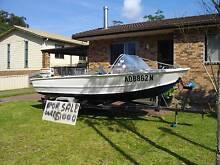 14ft Dehavalin Boat 4 SALE Johnson 35hp outboard on Tilt Trailer Old Erowal Bay Shoalhaven Area Preview