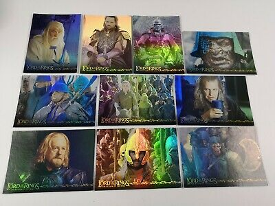 Lord Of The Rings RotK Boxtopper Foil Chase Card 2 Of 2