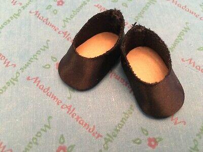 "Original Black Shoes  for 8"" Madame Alexander dolls"