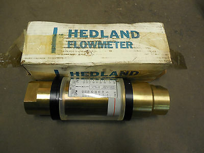 Hedland Water Flow Meter 805040 1-14 Npt 9027 3000 Psi Max 40 Gpm 150 Lpm New