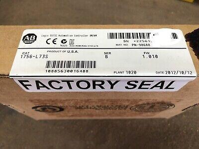 Allen-bradley 1756-l73s Ser B Guardlogix Cpu New Factory Sealed