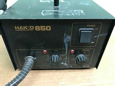 Hako 850 Smd Hot Air Rework Station Ac120v-280w 60hz