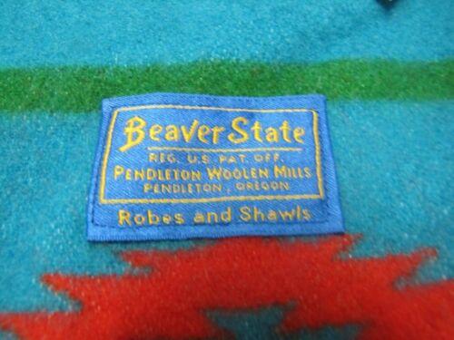 NEW Beaver State PENDLETON WOOL 32X44 Lap or Crib Blanket/Shawl/Muchacho Robe