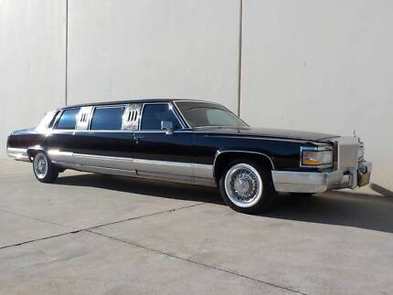 Cadillac, Fleetwood, Brougham, Stretch Limousine, RHD, 5.7 Litre Penrith Penrith Area Preview