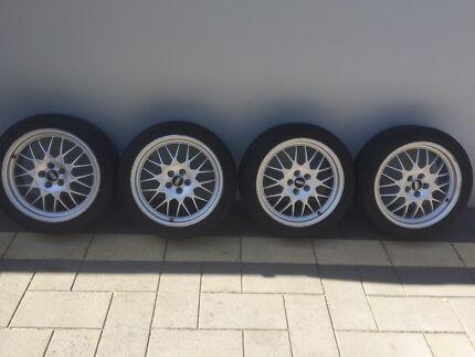 Genuine B4 BBS wheels