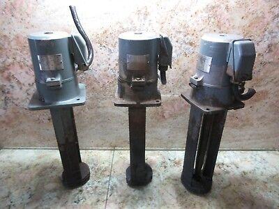 Yaskawa Coolant Pump Type Yfpc-18djf 0.16kw Cnc Long Neck Mori Seiki