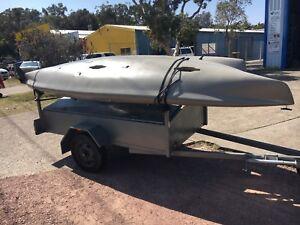Hobie  Kayaks and trailer