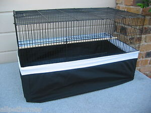 Bird-Cage-Tidy-FULL-COVER-UNDER-CAGE-Seed-Catcher-LARGE