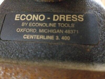 Econ-o-dress Diamond Angle Tangent To Radius Wheel Dresser Usa